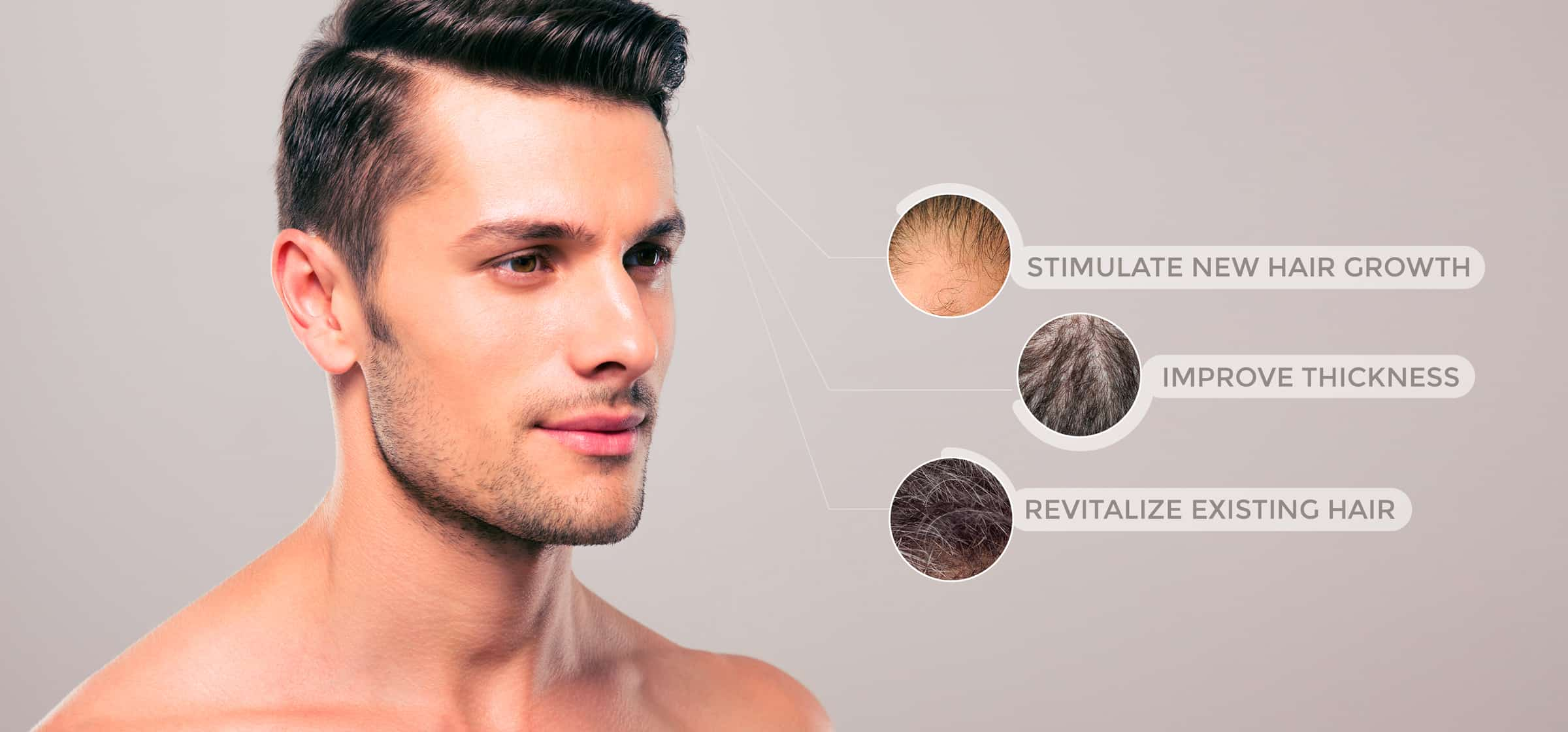 make mens hair grow back treatments